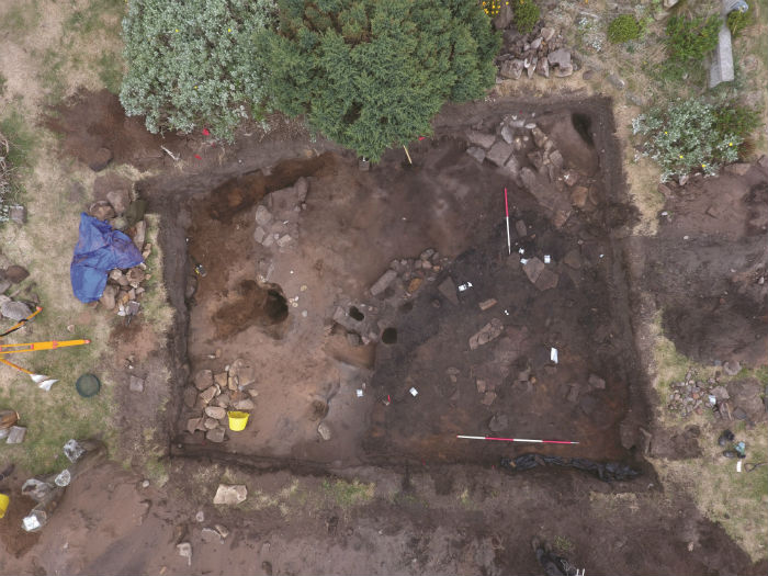 Pictish longhouse unearthed at Burghead Fort?